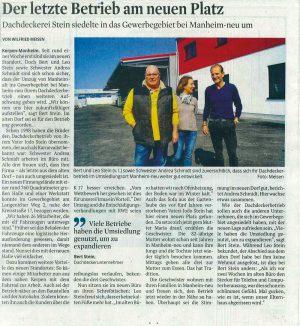 Stein_Presseartikel_Umsiedlung1